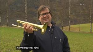 Finn Tokvam med kornett i Norge Rundt
