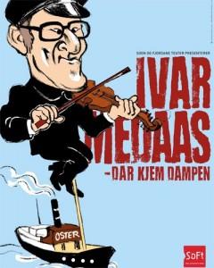 Plakat for Medaas-kabareten frå Sogn og Fjordane Teater