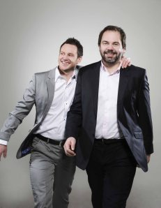 Heine Totland og Gisle Børge Styve, bilde