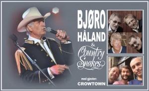 Bjøro Håland, Country Snakes og Crowtown