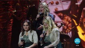 Anita Hegerland i tysk juleshow - NRK