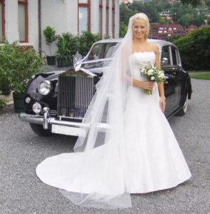 Gjør stas på bruden med en Rolls!