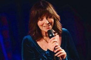Anita Skorgan på scenen